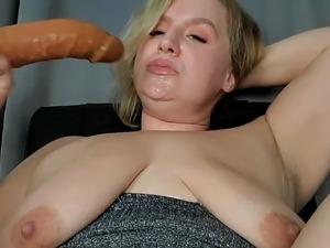 young slut double fucked hard interracial