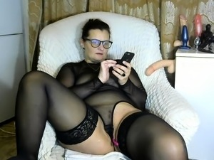 xxx thigh highs stockings shemale