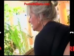 Italian girl getting fucked