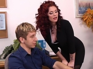 red tube lesbian office fuck