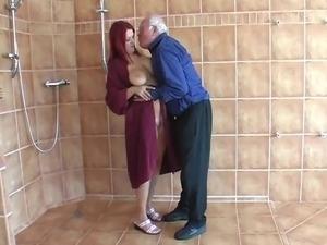 old man seducing young girl video