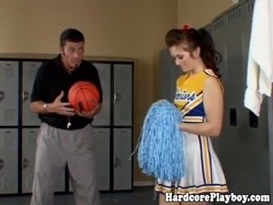 cheerleaders spread pussy