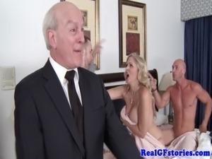 nude cougar sex video