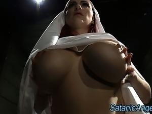 Naked nun porn