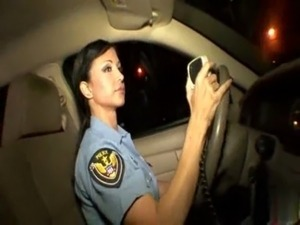 erotic police video