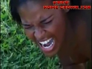 destroyed Black girl anal