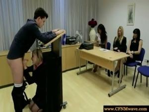 amateur handjob posted free video cfnm