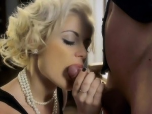 Opinion, Blonde pornstar maverick aggressive blowjob