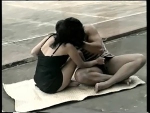 lesbian brazil ass licking