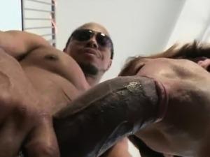 black guys flashing