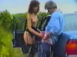 Hot naked car wash