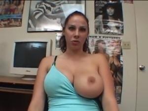 brunette amateur video trailer
