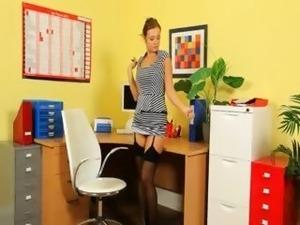 secretary sex young