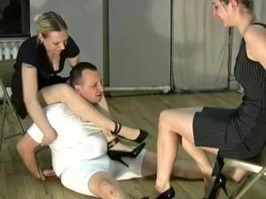 porn tube ballbusting handjob