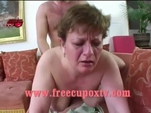 Anal sex laying down