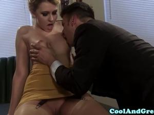 secretary corset anal movie