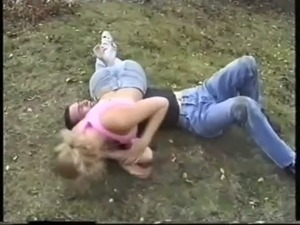 wrestling girl porn