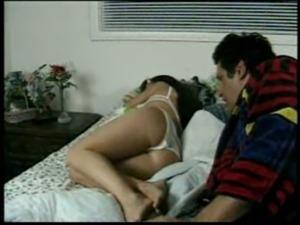 Sleeping girl lesbian