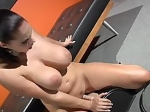 Gianna michaels big tits at work
