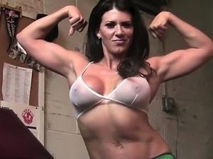 young petite girls changing gym