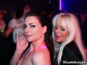 drunk amateur party