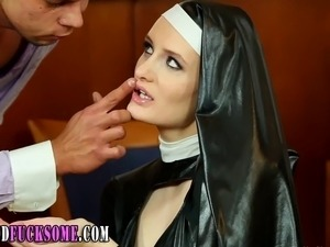 nun blowjob video