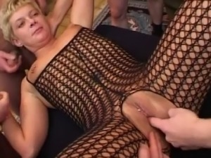 inserting thing in pierced pussy