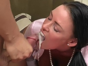 real amateur wife facial cumshot compilation