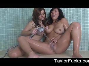 Naked girls in shower video