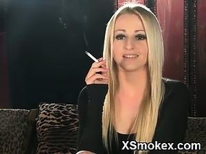 sexy smoking bitch