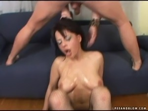 girl cries pukes black cocks