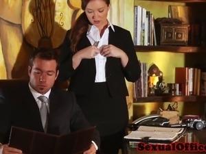 i blackmailed my secretary into sex