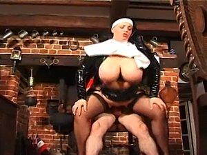 missioary style nun porn video