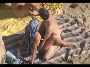 Hardcore beach sex