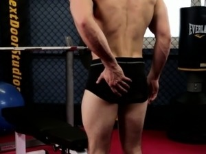 muscled black butts