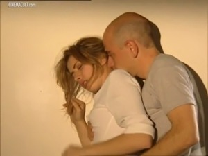 blonde wife groped in cinema