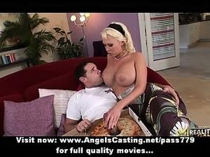 hot blonde big tits ass porn
