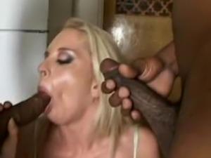 old women fuck black guys