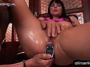 Extreme lesbian anal