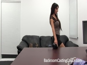 naked casting video