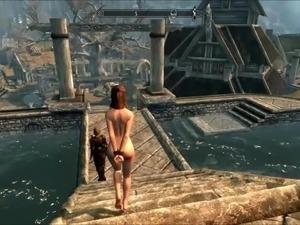 Perils of escaped skyrim slavegirl 20 edited - 3 part 3