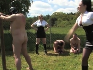 man spanked by wife or girlfriend