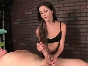 very young girl massage hien