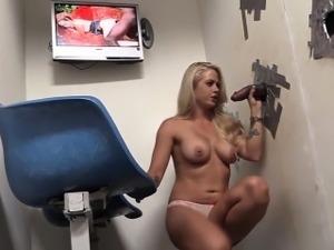 Glory hole sex movie