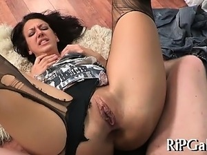 video anal gape black cock