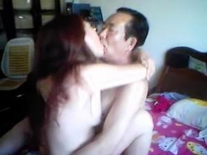 girl giving handjob to uncle