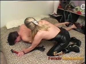 free femdom cuckold strapon interracial porn