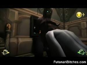 futanari anal sex