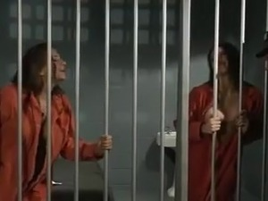 sexy babes punished in jail