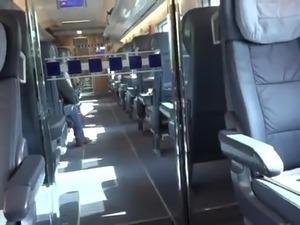 train sex video